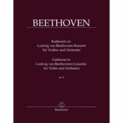 Cadenzas to Concerto for Violin and Orchestra, Op. 61