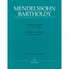 Concerto in E Minor for Violin