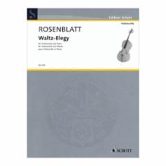 Waltz-Elegy for Cello and Piano