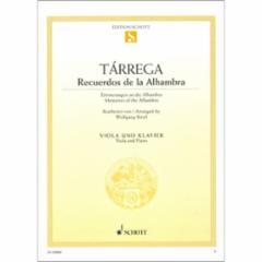 Recuerdos de la Alhambra for Viola and Piano