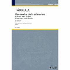 Recuerdos de la Alhambra for Piano Trio