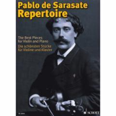 Pablo de Sarasate Repertoire for Violin and Piano
