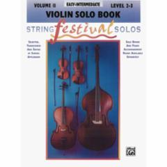 String Festival Solos: Volume 2 (Easy-Intermediate)