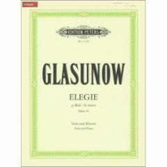 Elegie in G minor, Op. 44 for Viola and Piano