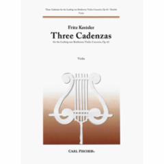 Three Cadenzas for the Violin Concerto, Op. 61