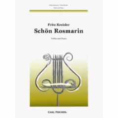 Schon Rosmarin for Violin and Piano