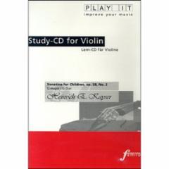 Sonatina for Children, Op. 58 No. 2 in G Major for Violin