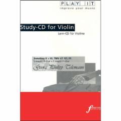 Sonatina V and VI, TWV 41: E1, F1 in E Major and F Major for Violin