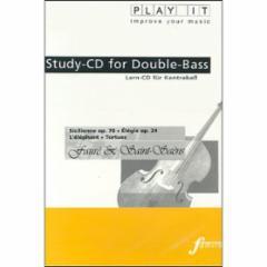 Sicilienne Op. 78/Elegie, Op. 24/L'Elephant/Tortues for String Bass