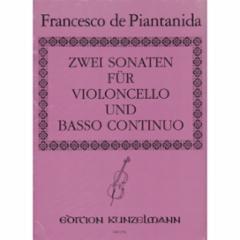Two Sonatas for Violoncello and Basso Continuo