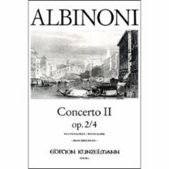 Concerto No.2, Op.2, No.4 for Violin and Piano