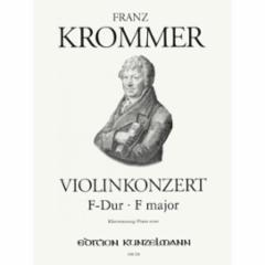Concerto  in F Major for Violin and Piano