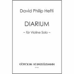 Diarium for Violin Solo