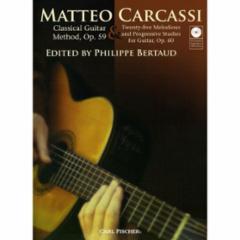 Classical Guitar Method, Op. 59 and Twenty-five Melodius and Progressive Studies for Guitar, Op. 60