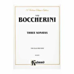 Three Sonatas (Cello and Piano)