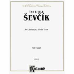Little Sevcik Tutor for Violin