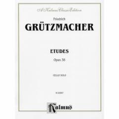 Etudes, Op. 38 for Cello Solo