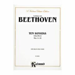 Ten Sonatas for Violin and Piano