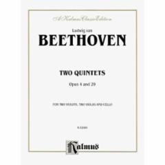 Two Quintets Op.4 and 29 (2 Violins/2 Violas/Cello)