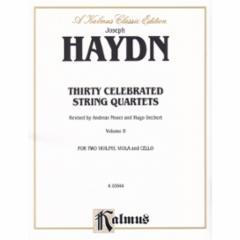 30 Celebrated String Quartets