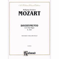 Divertimento in E-Flat Major, K.563 (Violin/Viola/Cello)