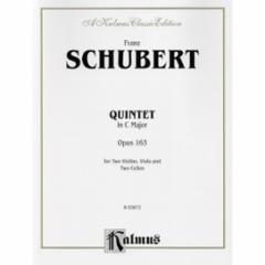 Quintet in C Major, Op. 163 (with 2 cellos)