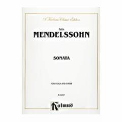 Sonata in E-Flat Major for Viola and Piano
