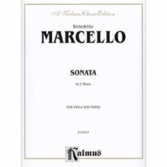 Sonata in E Minor (Viola and Piano)