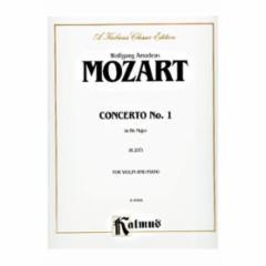 Concerto No. 1 in Bb Major, K. 207 for Violin and Piano