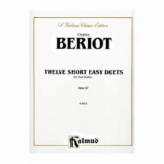 Twelve Short Easy Duets Op. 87 for Violin