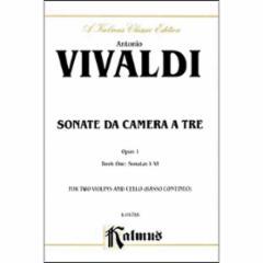 Sonata da Camera a Tre, Op.1 (2 Violins/Cello)