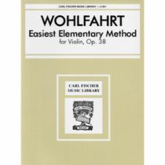 Easiest Elementary Method for Violin, Op. 38