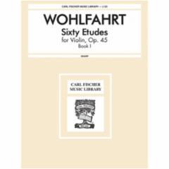 60 Etudes for Violin, Op. 45
