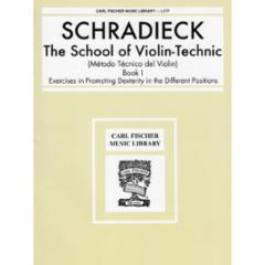 School of Violin Technic, Op.1