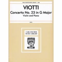 Concerto No.23 in G Major for Violin and Piano