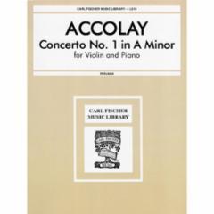 Concerto No. 1 in A Minor for Violin and Piano