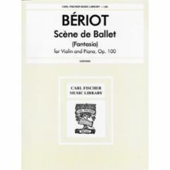 Sc�ne de Ballet (Fantasia) for Violin and Piano, Op. 100