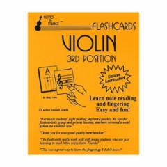 Flashcards: Violin 3rd Position