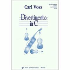 Divertimento in C for Full Orchestra (Grade 6)