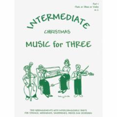 Intermediate Christmas Music for Three