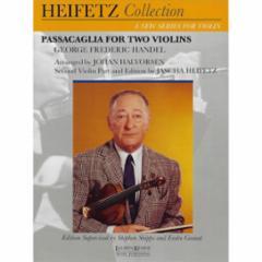 Passacaglia for Two Violins (Arr. Halvorsen)