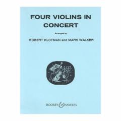 Four Violins in Concert