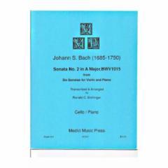 Sonata No.2 in A Major, BWV 1015