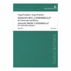 Adagio from Cinderella, Op. 97a for Cello and Piano
