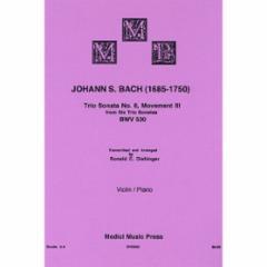 Trio Sonata No. 6, Movement 3 BWV 530