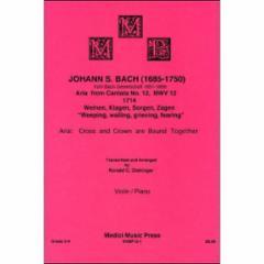 Aria from Cantata No. 12, BWV 12 1714: Weinen, Klagen, Sorgen, Zagen