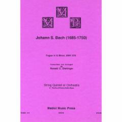 Fugue in G Minor, BWV 578