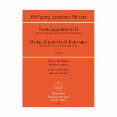 String Quintet in B-flat major