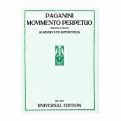 Movimento Perpetuo for Violin and Piano