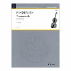 Trauermusik for Viola and Organ